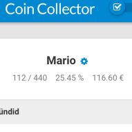Coin Collector Keep Track Image